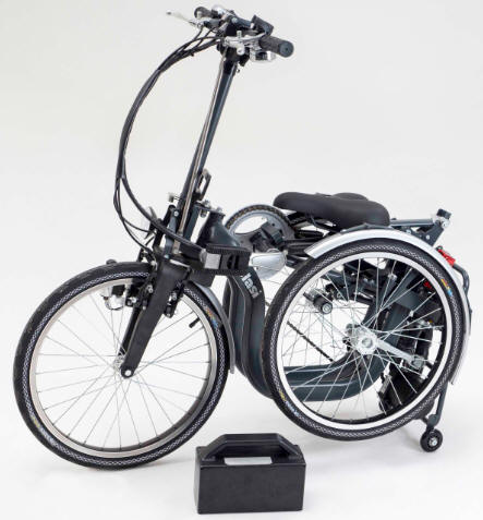 Hedendaags Elektrische driewielfiets, opvouwbare elektrische driewieler R34 BG-64