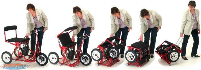 Opvouwbare Elektrische Scootmobiel Van Di Blasi